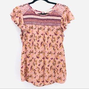 Rewind Women's Short Sleeved Top (1-00037)